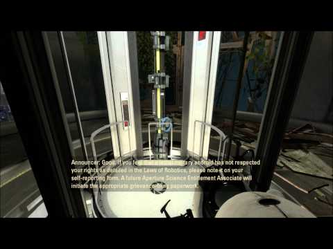 preview-Let\'s Play Portal 2! - 001 - Meeting Wheatley, and the blue portal gun! (ctye85)