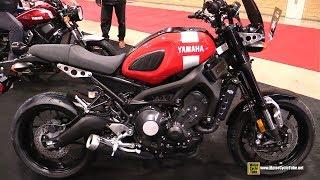 9. 2018 Yamaha XSR 900 Accessorized - Walkaround - 2018 Toronto Motorcycle Show