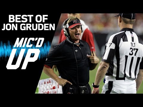 Video: Jon Gruden's Best Mic'd Up Moments | Sound FX | NFL Films