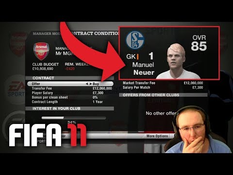 FIFA 11 CAREER MODE - TRANSFERS AND NEGOTIATIONS!