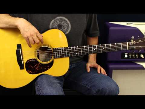 Acoustic Guitar Lesson – Strum Pattern Exercises – Rhythm Lesson – Beginner