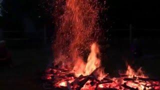 Ścieżka ognia - siła woli w survival