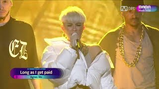 Video [FULL HD] AGNEZ MO PERFORM AT MAMA 2017 MP3, 3GP, MP4, WEBM, AVI, FLV Juni 2019