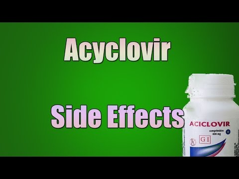 Acyclovir Side Effects - Acyclovir Tablets, Capsules, Suspension (Oral)