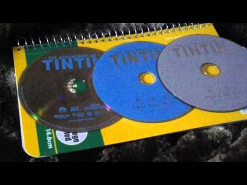 The adventures of Tintin blu-ray family