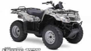9. Suzuki Utility ATV Lineup