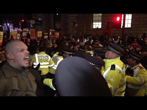 Λονδίνο: Συγκέντρωση κατά του Μπόρις Τζόνσον