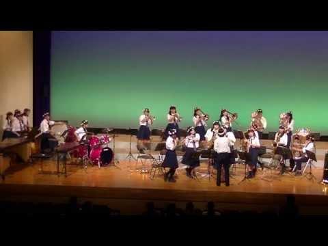 第47回伊都地方吹奏楽祭  隅田中学校吹奏楽部、「アフリカン・シンフォニー」・「風になりたい」。