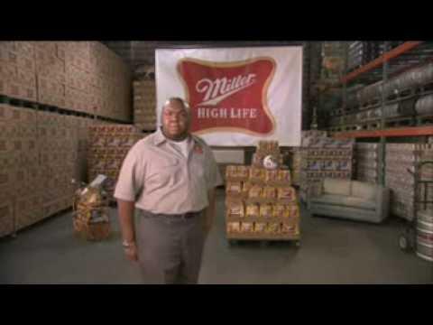 Super Bowl 2009- 1-Second Commercials: Miller High Life