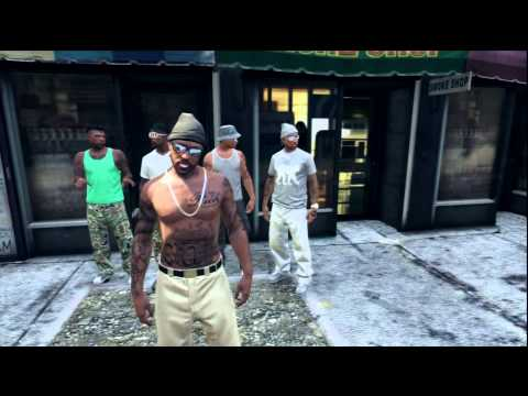 GTA 5 FIGHTS IN THE HOOD  10$ PSN PRIZE - TOURNAMENT