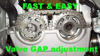 3. Easy Valve Adjustment Yamaha YZ250F - The fastest way!