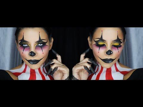 Clown Face Makeup Tutorial by Tina Kosnik | TinaKpromua