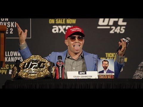 UFC 245: Kamaru Usman vs. Colby Covington  Press Conference  (FULL)