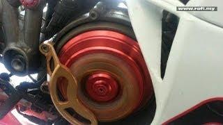 5. Ducati 999R Xerox Dry Clutch Engine Revving