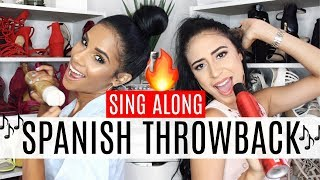 SING ALONG | Spanish Throwback Music Playlist