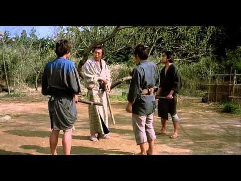 Суровая тренировка самураев :)