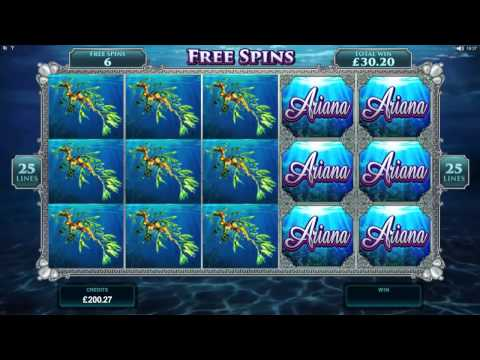 Ariana Slot - Bonus Round - Super Big Win Microgaming