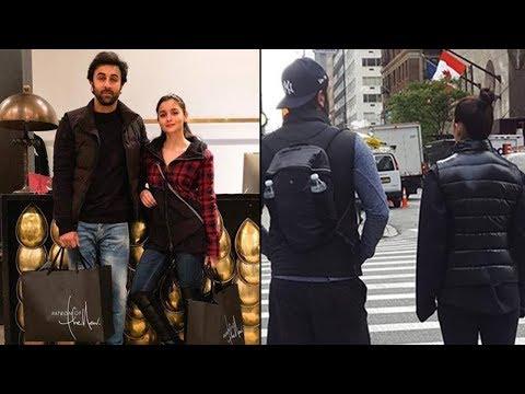 Ranbir Kapoor & Alia Bhatt TOGETHER On The Streets