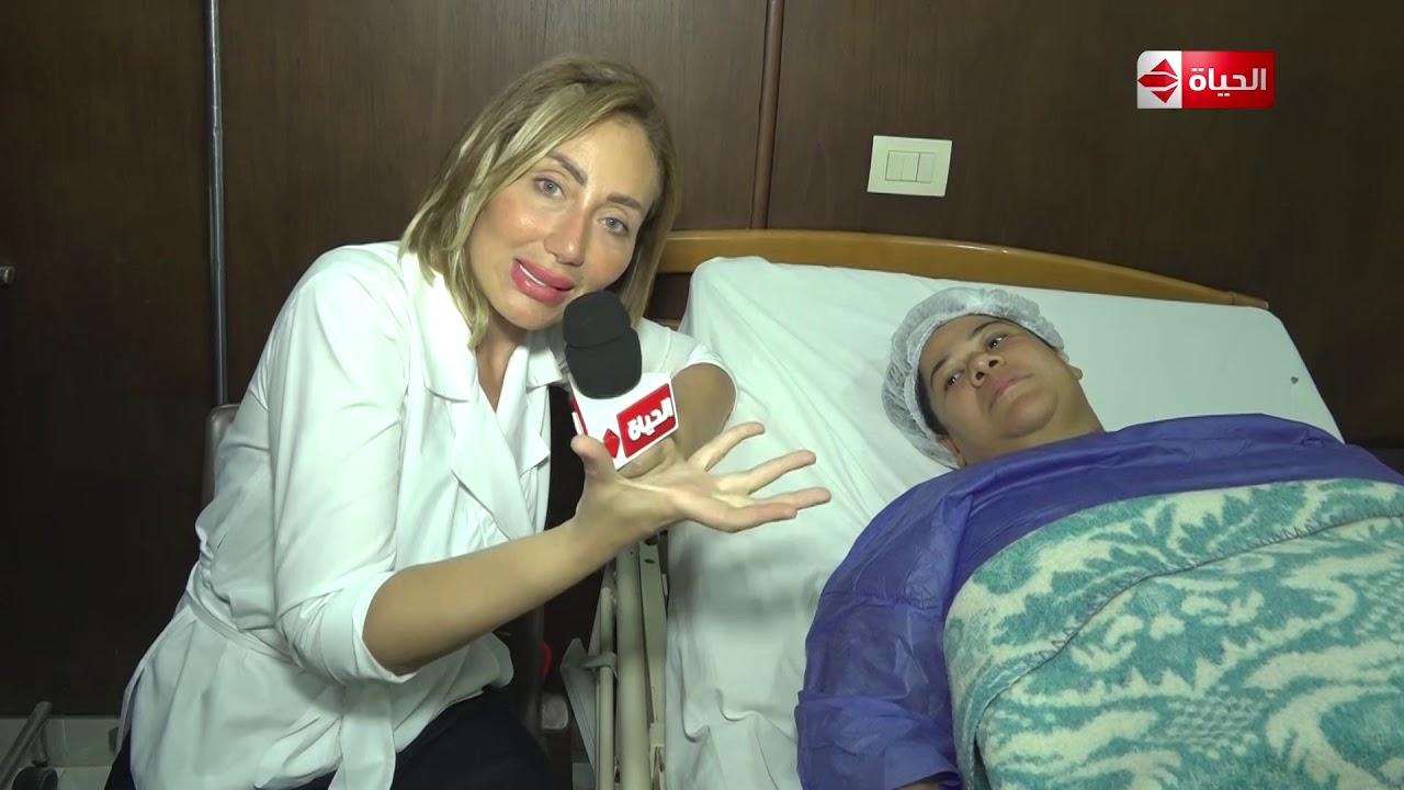 صبايا - مريضة لـ ريهام سعيد: أنا جوزي طفش مني بسبب إني تخينة! .. ورد فعل إنساني من ريهام سعيد