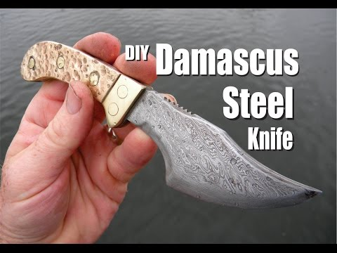 Video How to Make a Damascus Steel Knife download in MP3, 3GP, MP4, WEBM, AVI, FLV January 2017