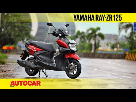 Yamaha Ray-ZR 125 review - The Ray with sting? | First Ride | Autocar India
