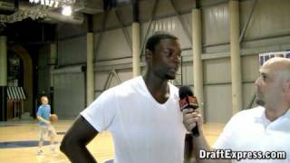 DraftExpress Exclusive: Lance Stephenson Pre-Draft Interview & Workout Footage