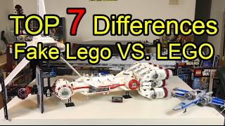 Video TOP 7 Differences between FAKE Lego & Lego MP3, 3GP, MP4, WEBM, AVI, FLV Februari 2019
