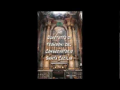 Santa Cecilia suona al San Camillo - Quartetto Tromboni Santa Cecilia