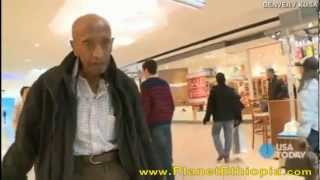 A 104 Years Old Ethiopian Man in Denver Walks the Mall EverydaySince 12 Years!