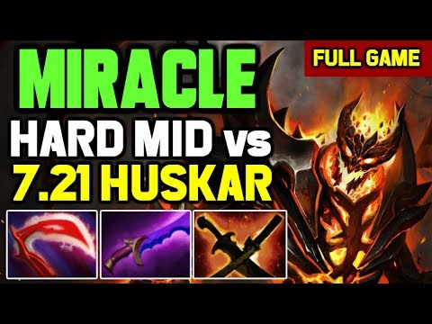 This is What Miracle Does after losing lane to Huskar Mid