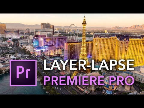 Create a Simple Layer-Lapse with Premiere Pro - Timelapse Tutorial