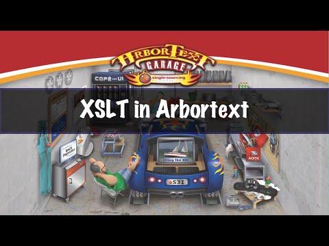 Custom Conversions - Using XSLT in Arbortext Editor
