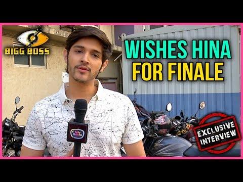 Rohan Mehra Wishes Hina Khan For Bigg Boss 11 FINA