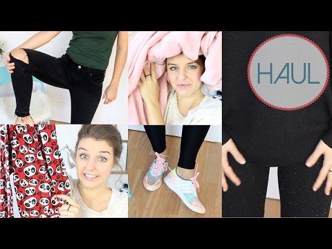 Haul - Primark, H&M, Adidas, Zara видео