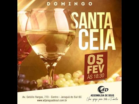 Santa Ceia do Senhor - 05/01/2017