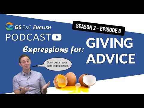 Gs E&C English Podcast - Advice - Season 2 Episode 8