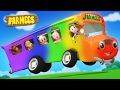 Download Video Wheels On The Bus Go Round And Round | Nursery Rhymes Farmees | Kids Songs | Baby Rhymes