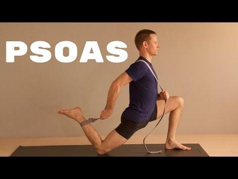 allenamento del muscolo psoas per una maggiore energia