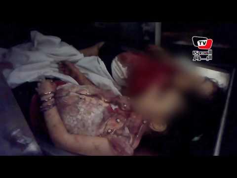 اللقطات الأولى لشهداء حادث المنيا الإرهابي من داخل «المشرحة»
