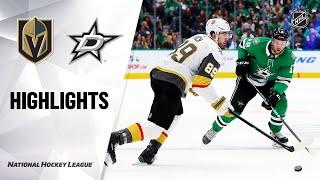 NHL Highlights   Golden Knights @ Stars 12/13/19 by NHL
