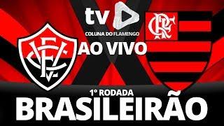 VITÓRIA 2 X 2 FLAMENGO | 1° RODADA BRASILEIRÃO 2018 | NARRAÇÃO COMPLETA | BARRADÃO 14/04/18