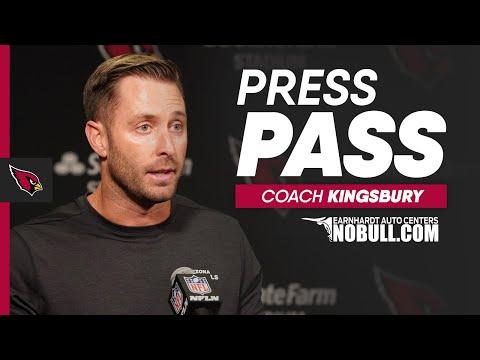 Kingsbury: It's Great Having Players Back on the Field | Arizona Cardinals