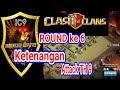 Ketenangan Attack TH 9 ROUND ke 6 Indonesia Cup TH9, Serangan TH 9 Keren banget CLASH OF CLANS TH9