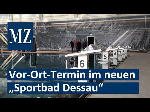 Sportbad Dessau in den letzten Zügen: Vor-Ort-Besuch  ...