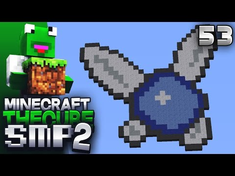 The Cube SMP 2 - Episode 53 - Animated Texture Pack / Giant Pixel Art Wall