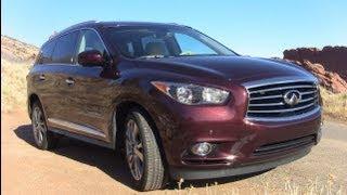2013 Infiniti JX35 Colorado Drive&Review