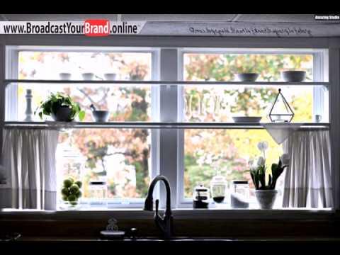 Tipps Ideen Küchenfenster Gewürzregale Fenster Spüle