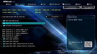 i5-8600k overclocking settings for 5GHz on Asrock z370 Extreme 4
