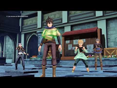 Black Clover : Quartet Knights - Trailer