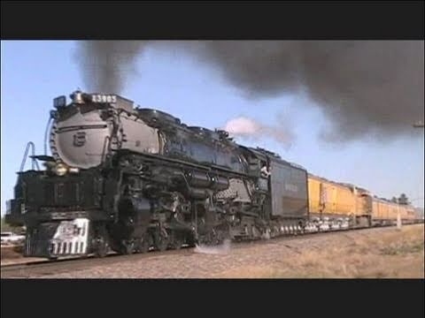 UP 3985 Challenger and the Circus Train